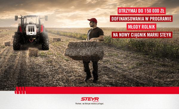 Steyr_Dofinansowanie młody rolnik 2020